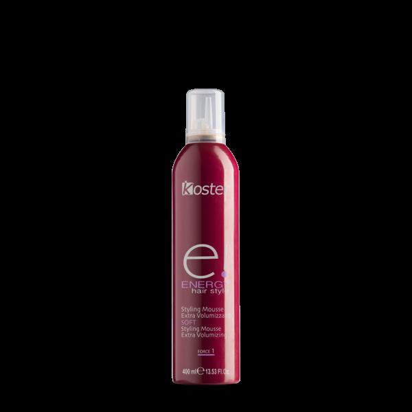 Energy – Styling mousse extra volumizzante soft