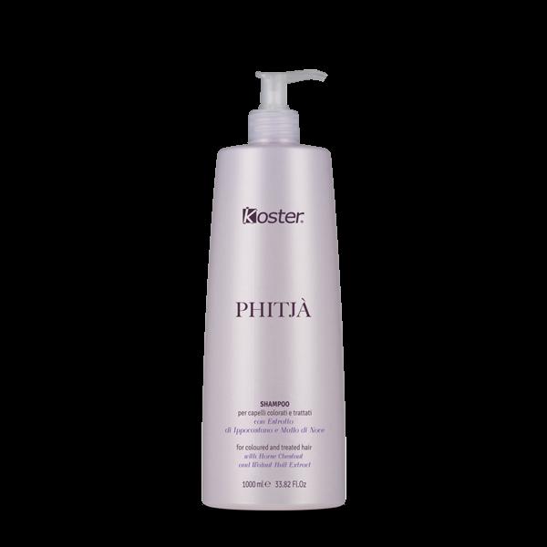 Shampoo per capelli colorati e trattati